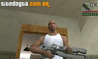 Rifle Railgun do Halo 4 para GTA San Andreas
