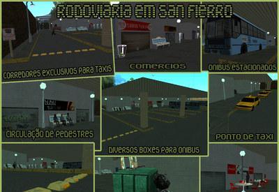 Mod da Rodoviaria de San Fierro para GTA San Andreas