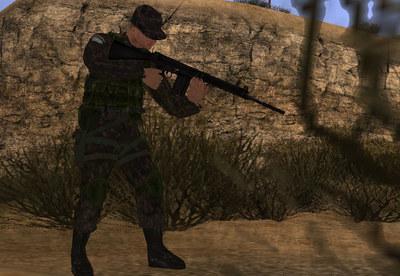 Mod de Soldado brasileiro para GTA San Andreas