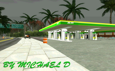 Mod do Posto BR para GTA San Andreas