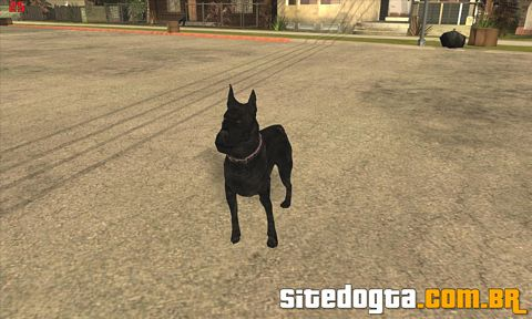 Mod do cachorro Canis Panther para GTA San Andreas