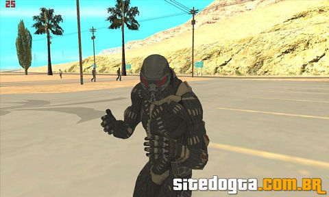 Mod do Crysis Invasion para GTA San Andreas