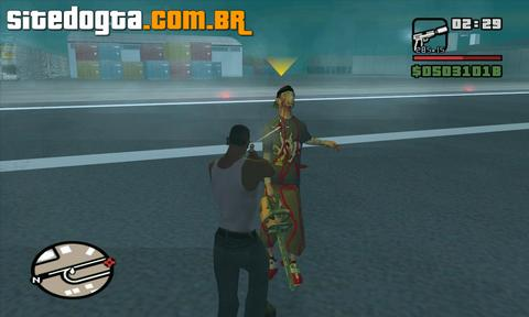 Mod do LeatherFace para GTA San Andreas