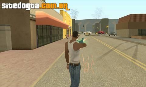 Mod da arma afastadora para GTA San Andreas