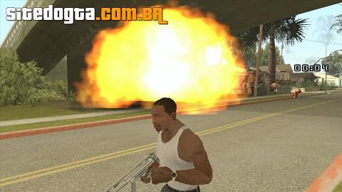 Mod da dinamite para GTA San Andreas