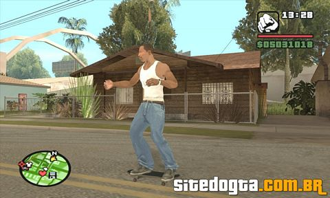 Mod do Skate para GTA San Andreas