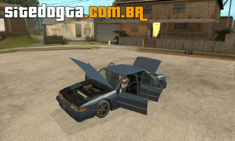 Mod 'Zetis Advanced Car Control' para GTA San Andreas