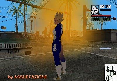 Mod do Dragon Ball Z para GTA San Andreas