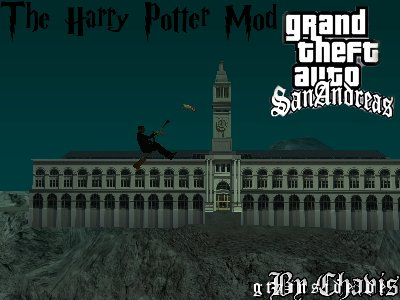 Mod do Harry Potter para GTA San Andreas