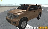 Toyota Sequoia 2012 GTA San Andreas