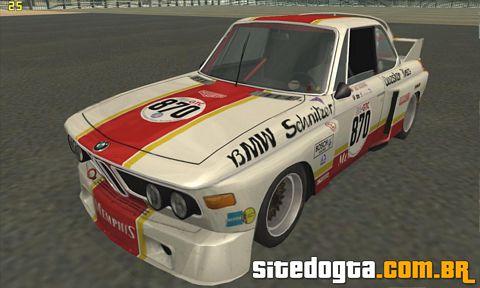 BMW 3.0 CSL Schnitzer 'Batmobile' 1975 para GTA San Andreas