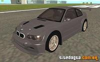 BMW M3 (E46) GTR Stock para GTA San Andreas