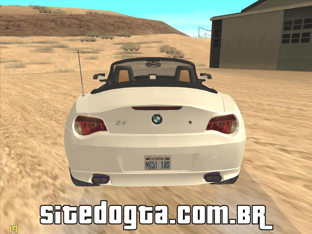Bmw Z4 Roadster Para Gta San Andreas Site Do Gta