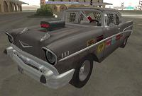 Chevrolet Bel-Air Bloodring Banger '57 pata GTA San Andreas