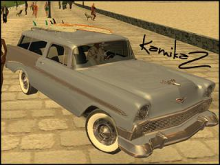 Chevrolet Bel-Air Nomad 1956 para GTA San Andreas