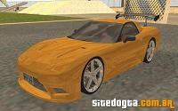 Chevrolet Corvette C5 Z06 Tunable para GTA San Andreas