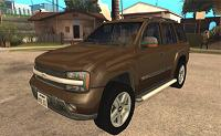 Chevrolet TrailBlazer 2003 pata GTA San Andreas
