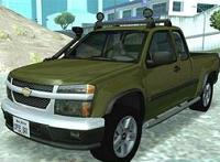 Chevrolet Colorado 2003 pata GTA San Andreas
