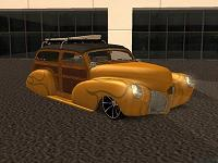 Chevrolet Fleetmaster Woody - 1948 pata GTA San Andreas