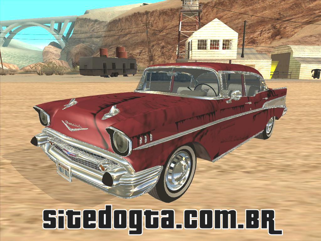 para gta iv .gta vc. gta san: Chevrolet Bel Air 4 door 57 - gta ...