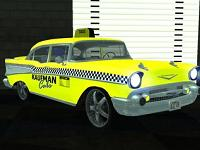 Chevrolet Bel-Air Taxi pata GTA San Andreas