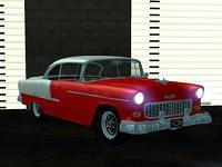 Chevrolet Bel-Air 2 Doors 1955 pata GTA San Andreas