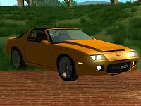 Chevrolet Camaro T-Top 1986 pata GTA San Andreas