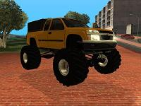 Chevrolet Colorado Monster pata GTA San Andreas