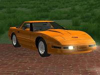 Chevrolet Corvette ZR1 pata GTA San Andreas