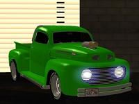 Ford 1949 - Pick-Up para GTA San Andreas