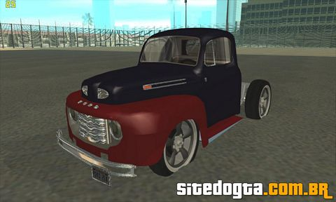 Ford F1 1949 custom para GTA San Andreas