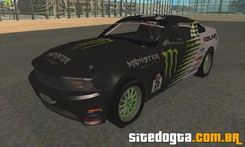 Ford Mustang GT 2010 Falken Monster para GTA San Andreas