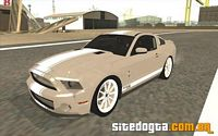 Ford Shelby GT500 Supersnake 2010 para GTA San Andreas