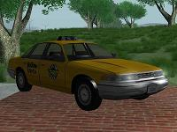 Ford Crown Victoria Taxi - 1997 para GTA San Andreas