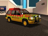 Ford Explorer do Jurassic Park para GTA San Andreas