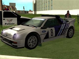 Ford RS200 1986 para GTA San Andreas