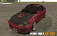 Honda Civic LX Sedan para GTA San Andreas