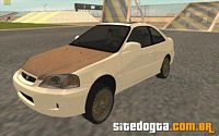 Honda Civic Si Coupe Rat Look para GTA San Andreas