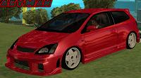 Honda Civic Type R tunado para GTA San Andreas