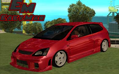 Honda Civic Type R Tuned para GTA San Andreas