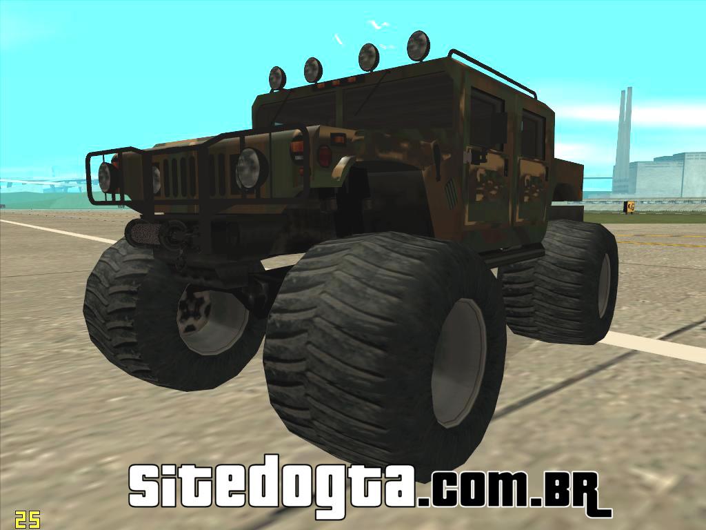 Hummer H1 Monstertruck Para GTA San Andreas