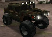 Hummer H1 Monstertruck para GTA San Andreas