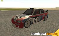 Hyundai Accent Coupé Rally Car para GTA San Andreas