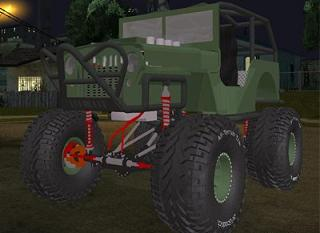 Willys Rock Crawler para GTA San Andreas