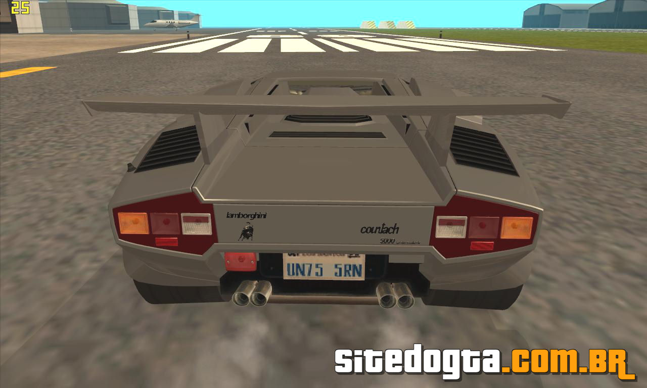 lamborghini countach gta sa lamborghini countach for gta. Black Bedroom Furniture Sets. Home Design Ideas