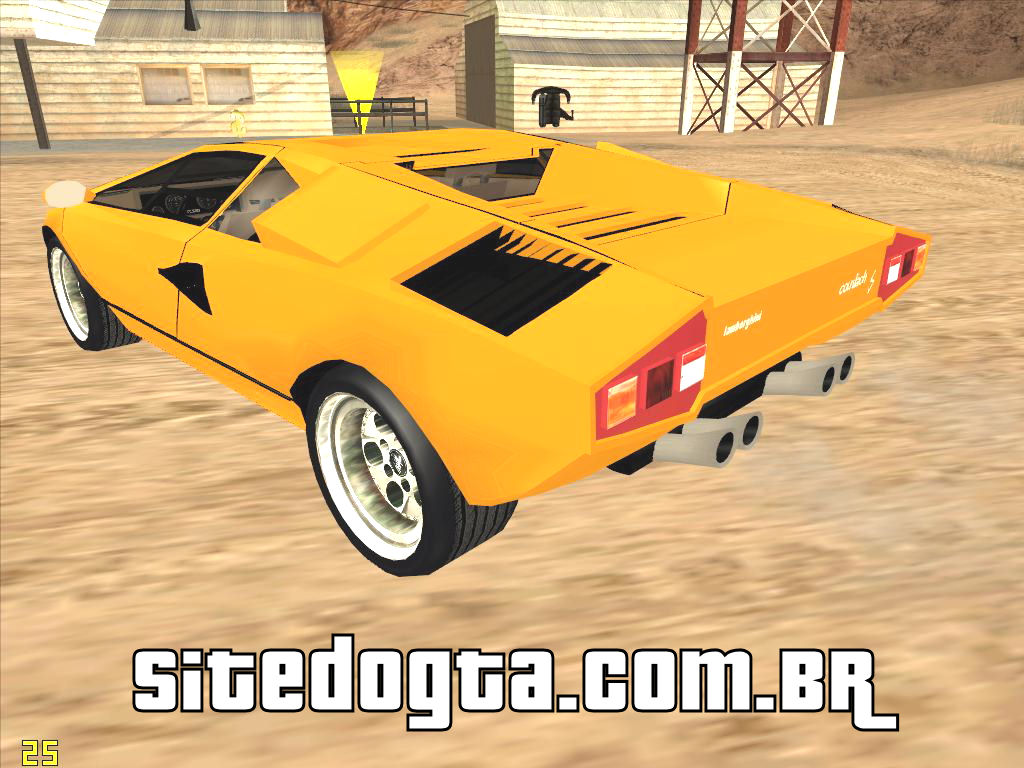 lamborghini countach para gta san andreas site do gta. Black Bedroom Furniture Sets. Home Design Ideas