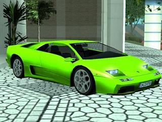 Lamborghini Diablo VT 6.0 para GTA San Andreas