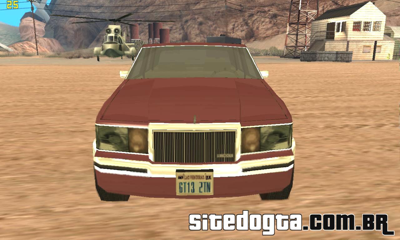 Carro Lincoln Town Car II 1990 para GTA San Andreas