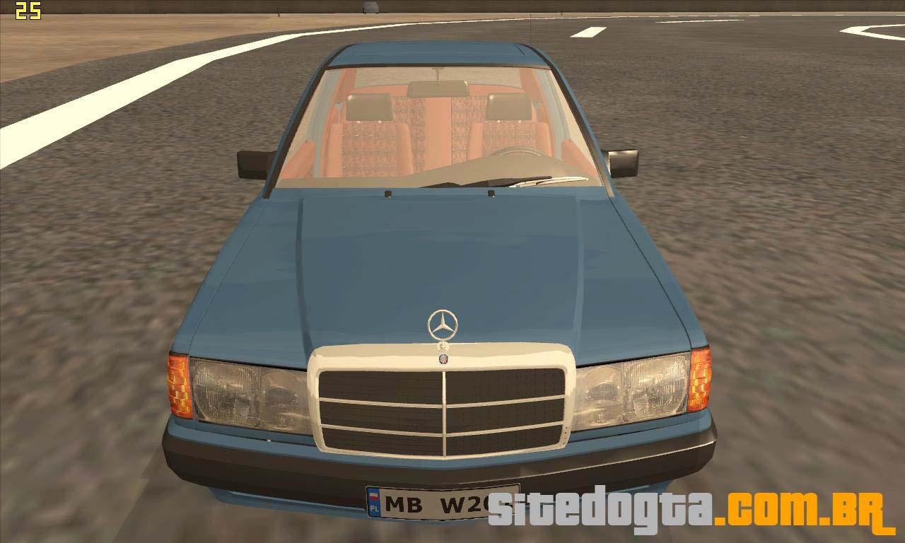 Mercedes benz 190e w201 para gta san andreas site do gta for Website mercedes benz