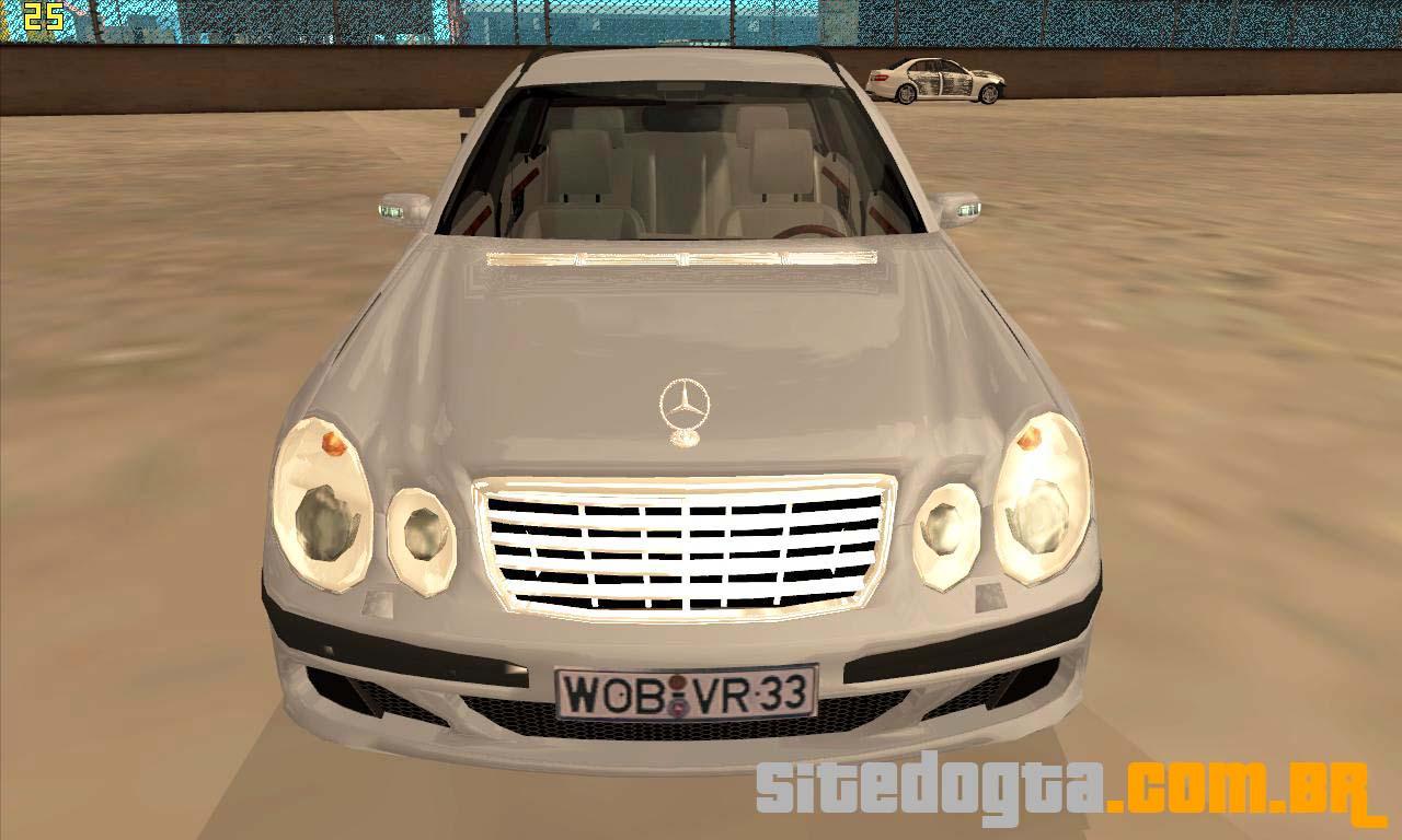 Mercedes benz e320 2007 para gta san andreas site do gta for Website mercedes benz